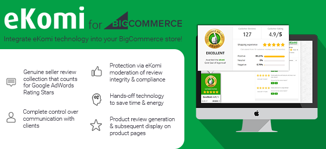 eKomi Plugin BigCommerce