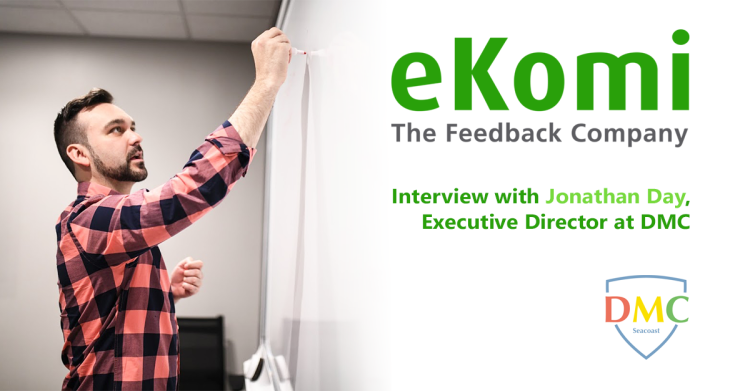 Interview eKomi and DMC image of Jonathan Day teaching