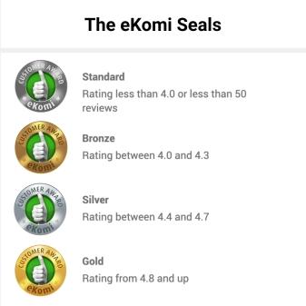 ekomi seals meaning